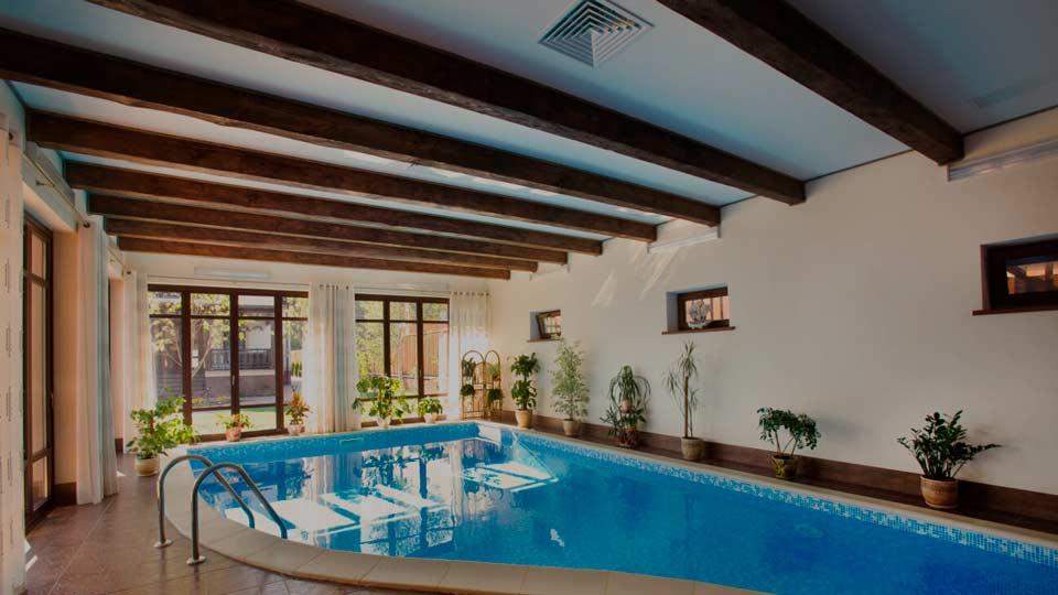 Банный комплекс с бассейном (деревня Варварино)