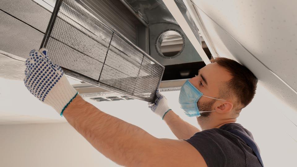 Обслуживание и ремонт систем вентиляции воздуха